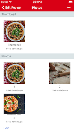 Paprika user guide ios edition adding recipe photos forumfinder Image collections