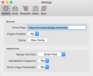 Paprika User Guide for macOS