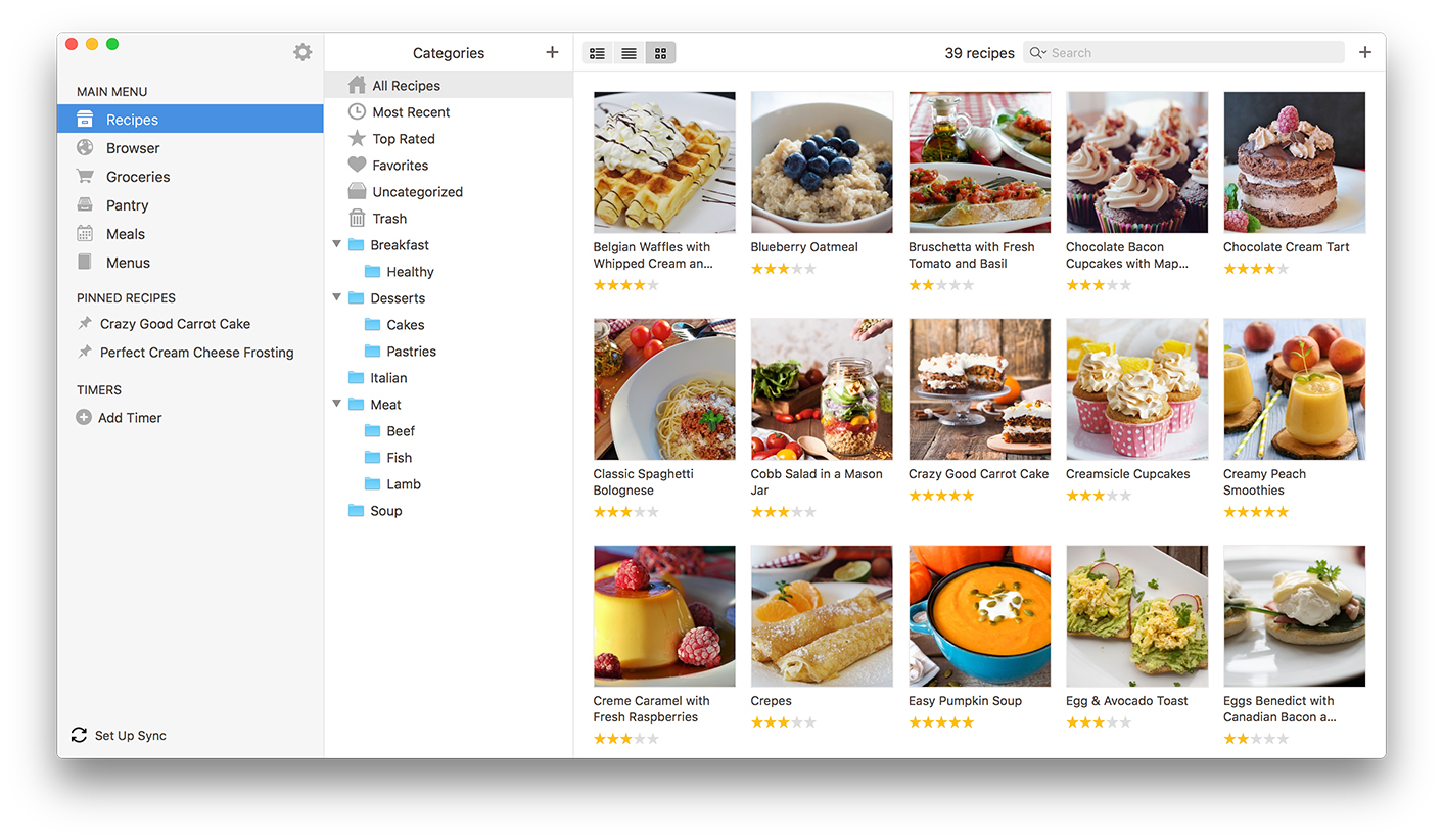Paprika recipe manager for ios mac android and windows mac forumfinder Images