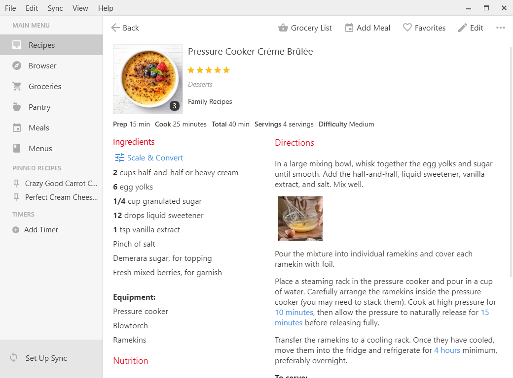 paprika recipe manager for ipad iphone mac android and windows